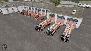Airport Firefighter Simulator - De eerste dienst! (NL)