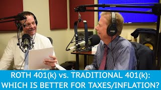 Roth 401(k) vs Traditional 401(k): Which is Better for Taxes and Inflation?