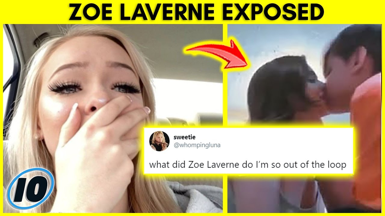 TikTok Star Zoe Laverne Exposed For This