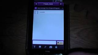 Yahoo Messenger video call, chat si email pe telefoanele mobile cu Android.mp4