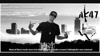 09 Slim Thug ft. Lil Wayne - Fuck You Chopped and Screwed by DJ AK47