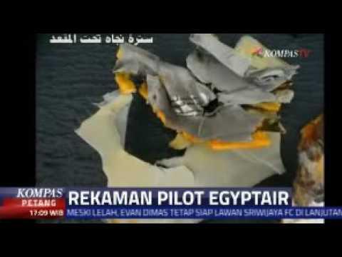 REKAMAN PERCAKAPAN PILOT EGYPTAIR
