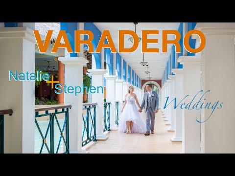 Natalie & Stephen #destinationWedding At #IberostarVaradero , Cuba With #AlexQD