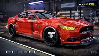 Need for Speed Heat - Ford Mustang GT 2015 - Customize | Tuning Car (PC HD) [1080p60FPS]
