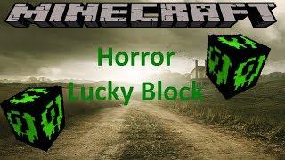 HORROR LUCKY BLOCK - MINECRAFT 1.8.9 (MOD SHOWCASE)