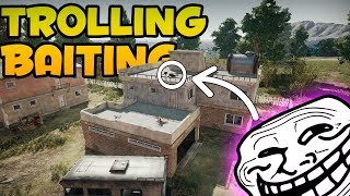 TROLLING, BAITING & FUNNY MOMENTS | PUBG