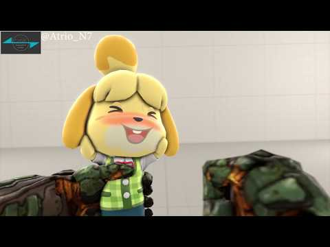 Pocket Isabelle Doom Eternal DLC [Fan Made in SFM]