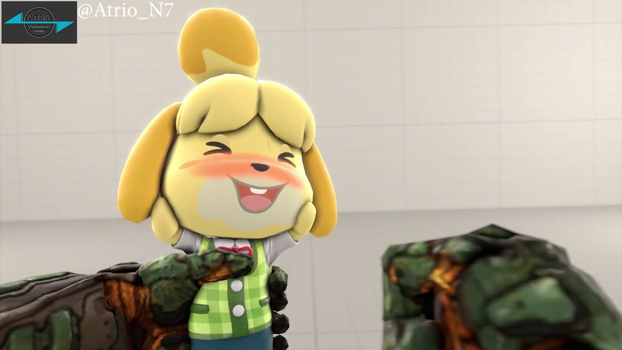 Pocket Isabelle Doom Eternal Dlc Fan Made In Sfm Youtube