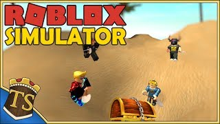 Dansk Roblox | Treasure Hunt Simulator - Graver Med Fans!