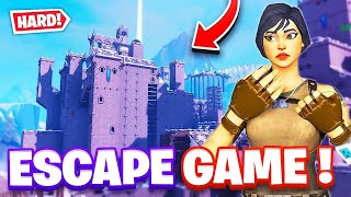 Escape game fortnite(château gotique) code en description