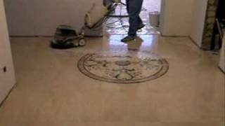 видео шлифовка мрамора