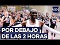[Récord mundial de maratón] Eliud Kipchoge destroza el muro de las dos horas