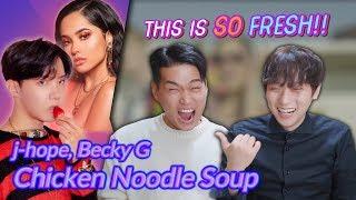 K pop Artist Reaction j hope Chicken Noodle Soup