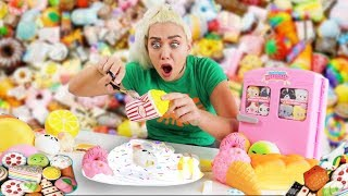 I CUT EXPENSIVE SQUISHY AND MADE IT INTO SLIME! SO SATISFYING UGHHH| NICOLE SKYES