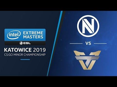 CS:GO - Envy vs. Team One [Dust2] Map 2 - Group B Decider - IEM Katowice AM Minor 2019
