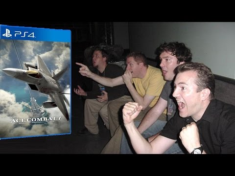Live Reaction to Ace Combat 7's Trailer at the 2016 PlayStation Experience