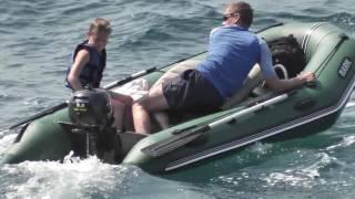 Seanovo 2.5HP Outboard Motor on a BARK BT-310S boat - Rab Island