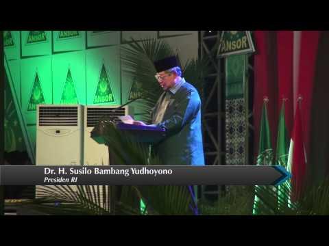 Harlah ke-80 GP Ansor, SBY: Teruslah Jadi Benteng Pancasila dan NKRI