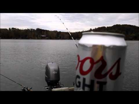 Soup Dudes Watts Bar Planer Board Striper Acton 10-31-15