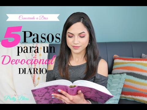 ¿Cómo hacer un devocional diario? | 5 PASOS PARA UN DEVOCIONAL | Pretty Bless ♥ |