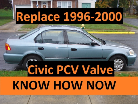 Replace 1999 Honda Civic PCV Valve