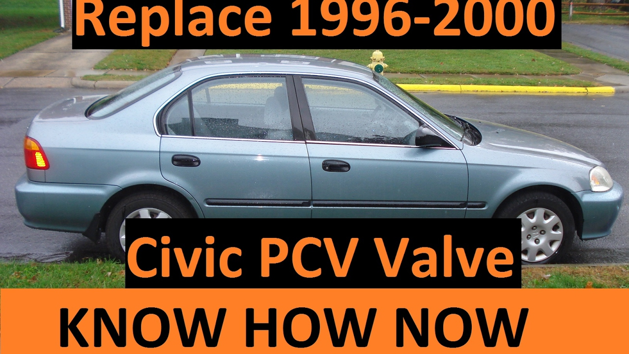 Replace 1999 Honda Civic Pcv Valve Youtube 98 Hx Wiring Diagram Egr