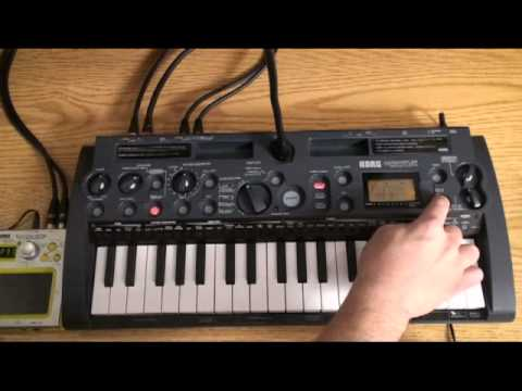 Korg microSAMPLER- Understanding the Five Sampling Modes- In The Studio with Korg