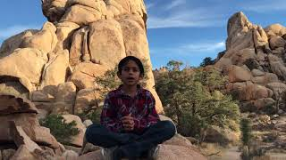 Madhurastakam @ Hidden valley Joshua Tree National Park