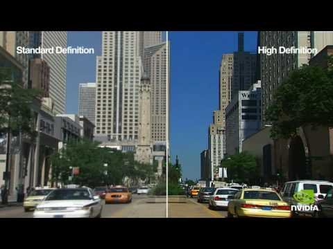 Standard Definition vs. High Definiton 1:1 Test HD 720p