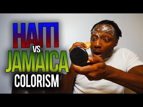 Jamaica vs. Haiti : Colorism