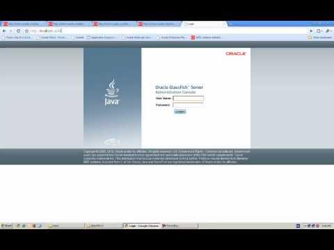 Configuring APEX Listener On Glassfish Server