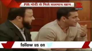 Salman Khan meets PM Narendra Modi in Delhi