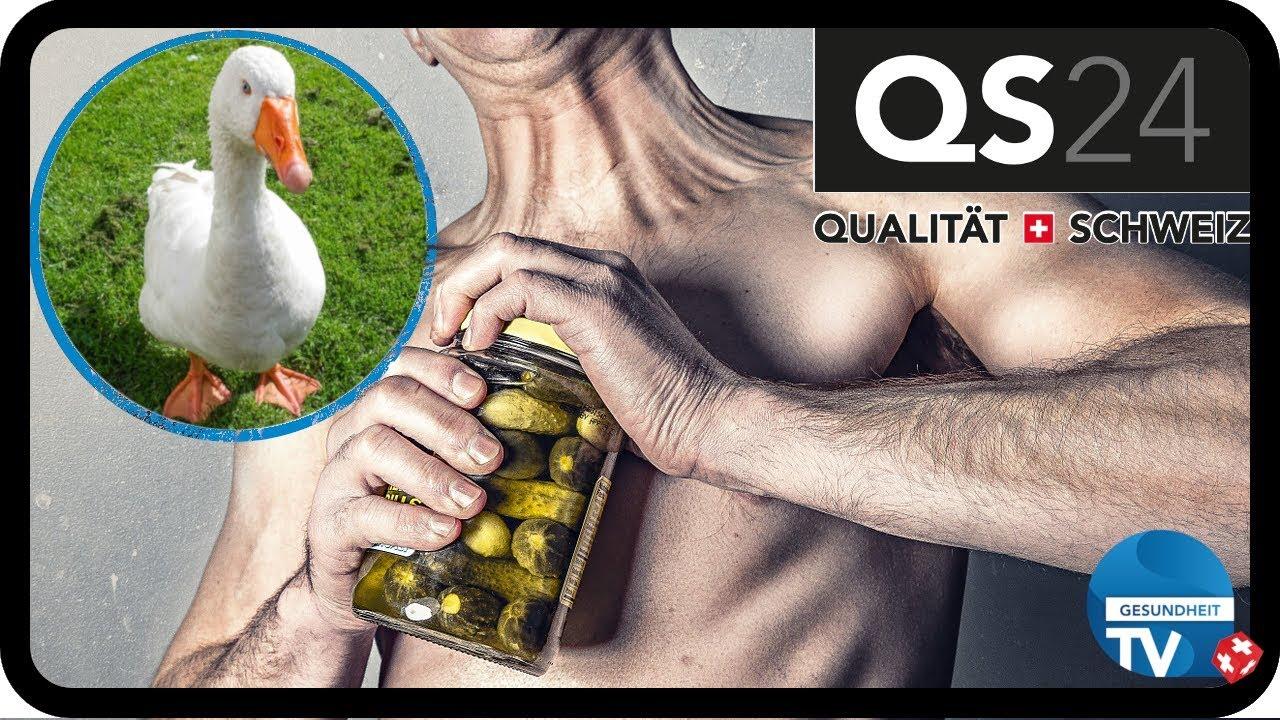 Was ein Mensch und eine Gans heutzutage gemeinsam haben | Gesundheit | QS24 15.07.2019