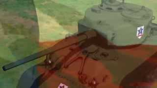 Girls Und Panzer - AMV - Saunders - The Yellow Rose of Texas