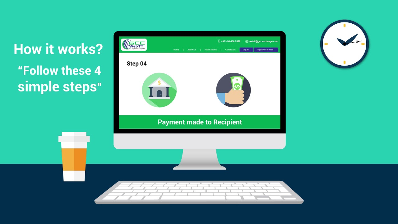 Gcc Exchange Launches Online Money Transfer Service
