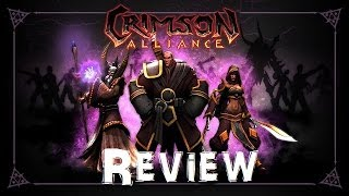 My Review Of Crimson Alliance RPG Game For Xbox 360 Gameplay Boss Fight