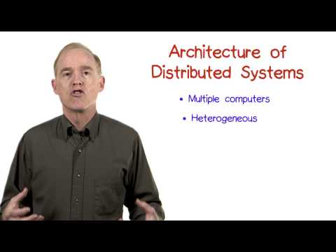 Architecture of Distributed Systems