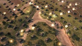 USA vs RUSSIA - GRAND TANK BATTLE - Men of War: Assault Squad 2