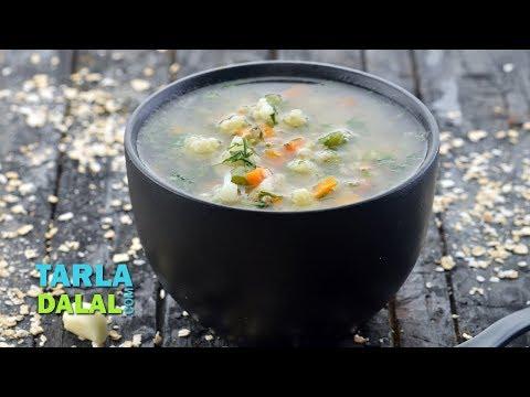 Garlic Vegetable Soup (Healthy Heart) by Tarla Dalal