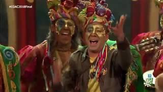 Carnaval de Cádiz 2018 | El Trinchera con El Perro andalú: un sueño cumplido