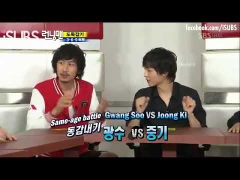 Kwangsoo frames Song Jihyo (Joongki + Pygmalion) - Running Man [eng]