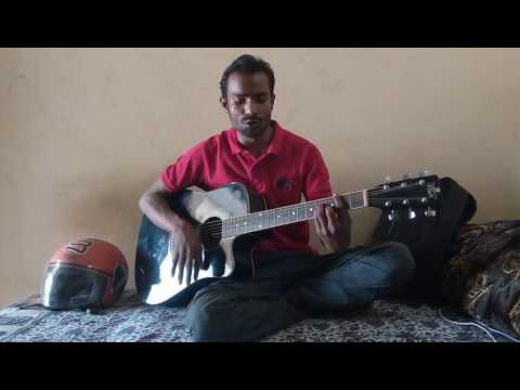 Meri Gajina  Garhwali song cover by accoustic guiter  (Pushkar singh)