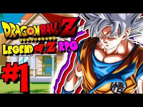 THE FANTASTIC DBZ RPG IS BACK, AND BETTER!   Dragon Ball Z: Legend Of Z RPG - Episode 1