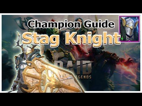 RAID Shadow Legends | Champion Guide | Stag Knight