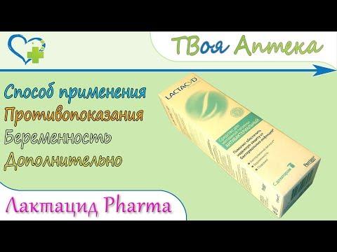 Лактацид Фарма Антибактериальный (Lactacyd Pharma) показания, описание, отзывы