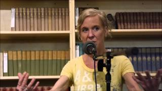 an evening with Kristin Hersh at Powells Books in Portland, Oregon October 30, 2015