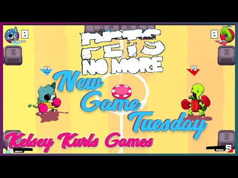 UNDEAD PETS BATTLING IT OUT!!! Pets No More | New Game Tuesday 💜 Kelsey Kurls Games |