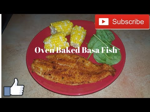 Delicious Oven Baked Basa Fish