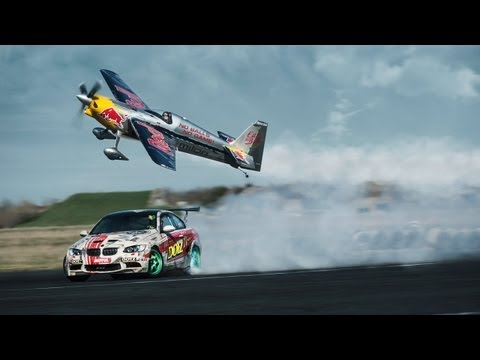 DOTZ TV: Car vs. Plane Gymkhana starring Hannes Arch: DOTZ Kings of Sideways