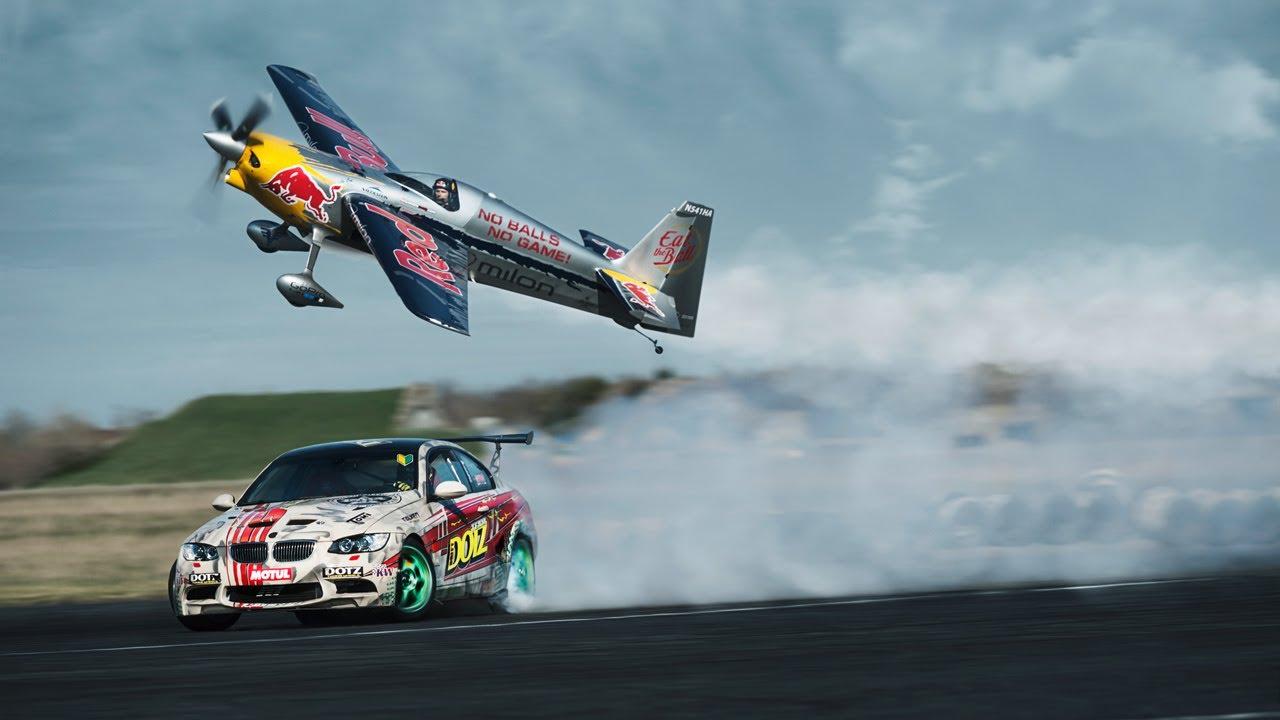 DOTZ TV: Car vs. Plane Gymkhana starring Hannes Arch: DOTZ Kings of Sideways